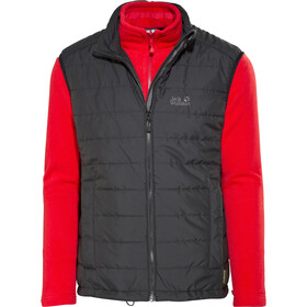e3bdb26abbb Jack Wolfskin Glen Dale Jacket Men red black